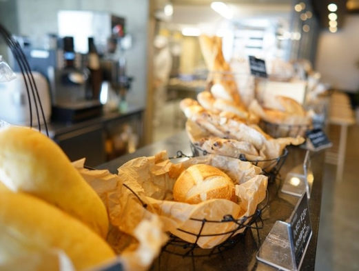 【巡るたび、出会う旅。東北】〜本格ベーカリーで朝食を【The BAKER】モーニングセット付〜
