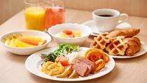 【朝食ブッフェメニュー洋食一例】お好みを料理をお召し上がりください