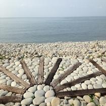 鳥取県琴浦町鳴り石の浜