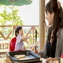 WB:ママと一緒の朝食