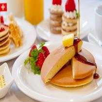 朝食パンケーキ