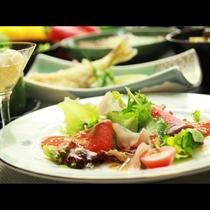 ◆【ご夕食一例・単品】当館自慢の創作料理をご堪能ください