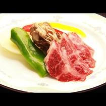 ◆【ご夕食一例・単品】国産黒毛和牛