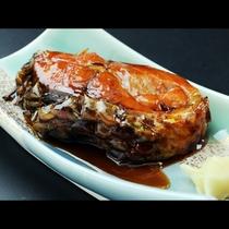 ◆【ご夕食一例・単品】会津の郷土食鯉のうま煮
