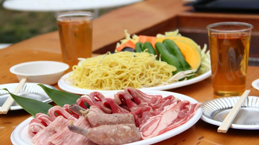 ◆【日帰りBBQ】食材は当館にてご用意!手ぶらで気軽にお楽しみいただけます♪