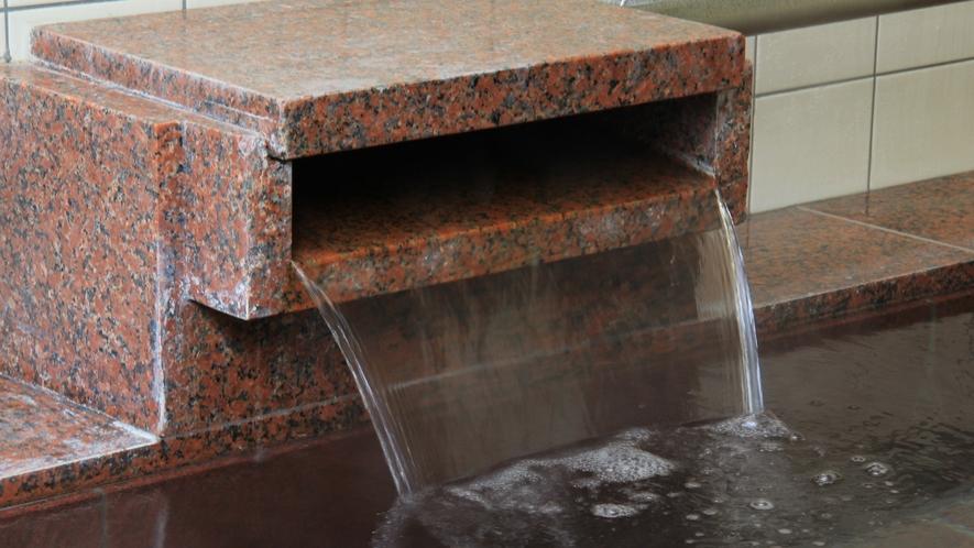 ◆【温泉】天然温泉100%源泉かけ流し。貸切で利用できる温泉は、美肌の湯として人気の泉質です。