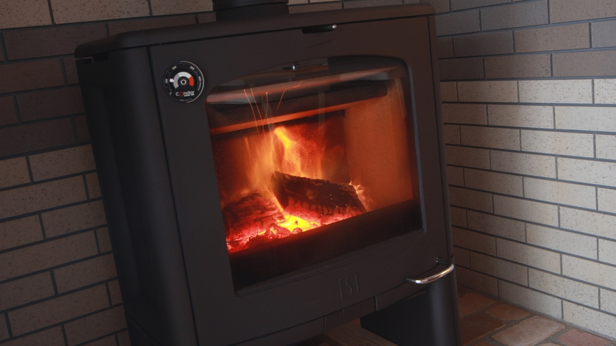 ◆【暖炉】冬は暖炉であたたかく♪