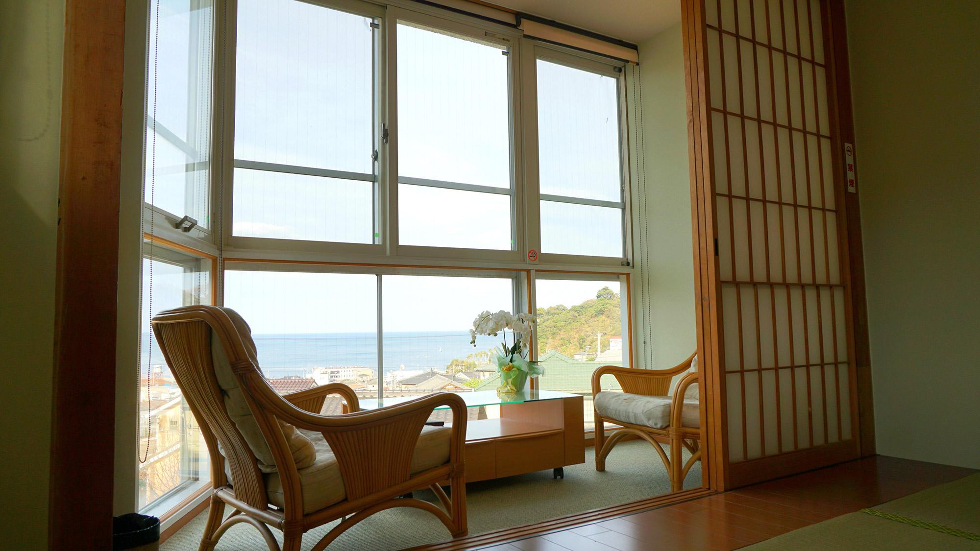・お部屋でのんびりと眺望を貸し切ってお楽しみください