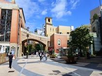 【ラ チッタデッラ】イタリアの街並みを再現したショッピングモールです。