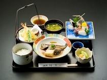 夕食例(お魚料理)