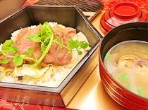 山形牛ステーキ丼