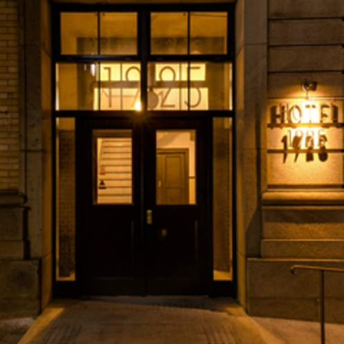 歴史ある洋風建築を甦らせたわずか5室のレトロクラシックなホテルですごす優雅なひととき。