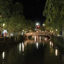 七つの湯めぐりが楽しい城崎温泉へは無料送迎させていただきます。(車で20分)
