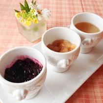 【朝食】自家製ジャム