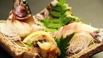 ちょっと珍しい、岩魚のお刺身◆新鮮で美味しい!