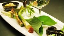 お料理一例◆地野菜の旨味を生かした調理法で