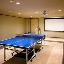 無料で利用できる卓球コーナーもございます。(15時~21時)