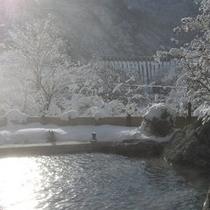 冬の露天風呂2