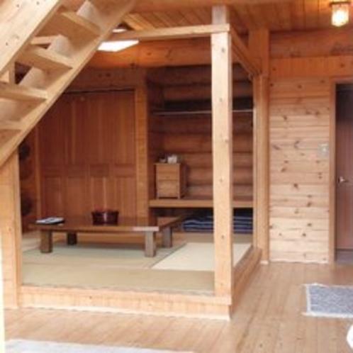 ログハウス和室1階和室