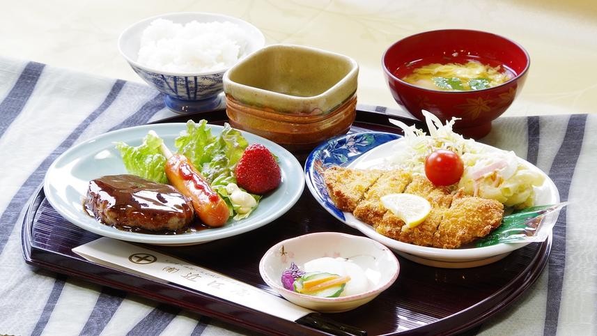 *【夕食/洋定食】ボリューム、味共に◎。