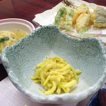 *【夕食例】地元料理・ひろっこ。ぜひ一度ご賞味下さい。