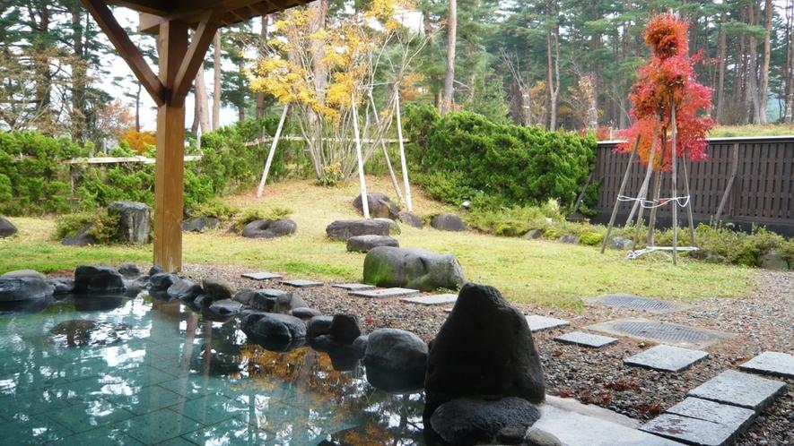 *【露天風呂】四季折々の景色をお楽しみいただけます。