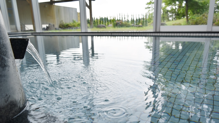 *【大浴場】天然温泉にごゆっくりお浸かりください。