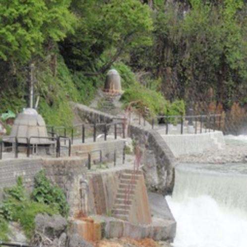 源泉公園を望む
