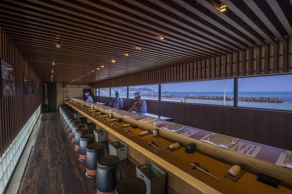 おすすめ【鮨屋台DINNER】海におまかせ握り+お部屋でほっこりスイーツタイムプラン【1泊2食付】