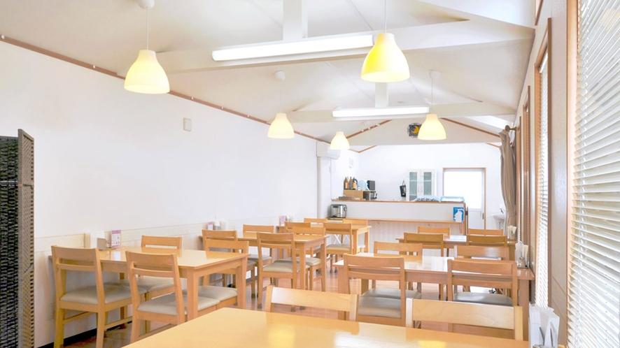 【食堂棟】ご朝食はこちらにてお召し上がりください