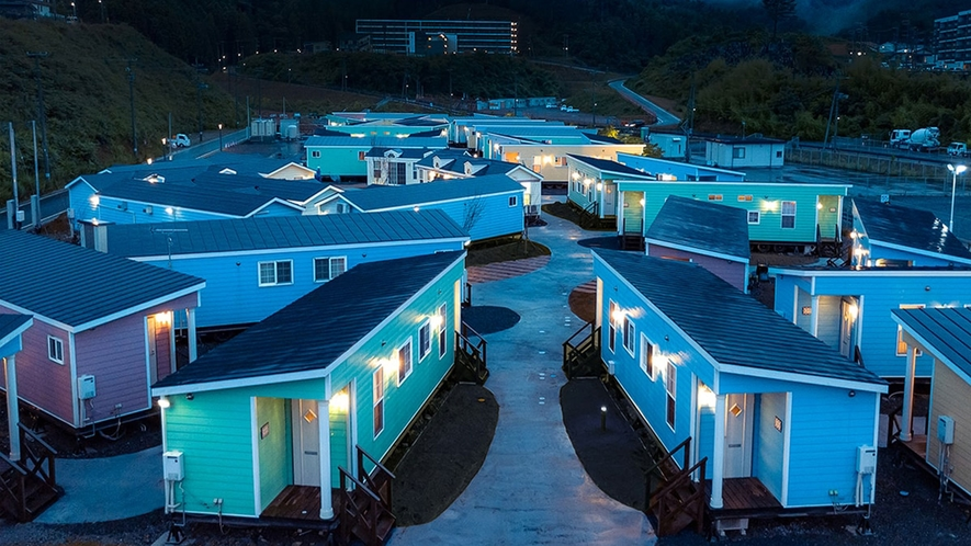 【ホテル・エルファロ】アウトリビングがコンセプトのホテルです