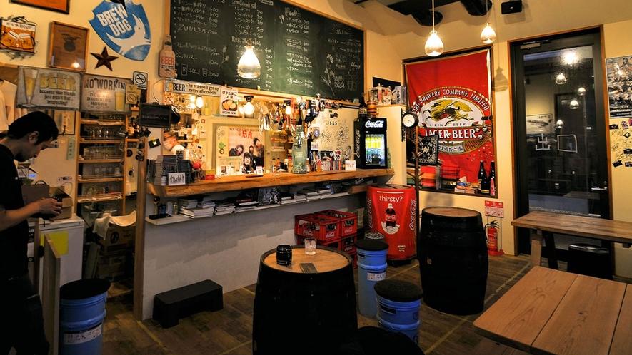 【クラフトビール】ガル屋Beer店内・当ホテルより徒歩3分