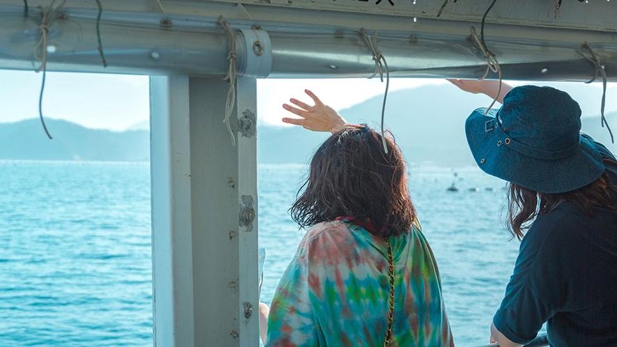 【女川クルージング】青々と美しい女川湾をゆるりとクルージング
