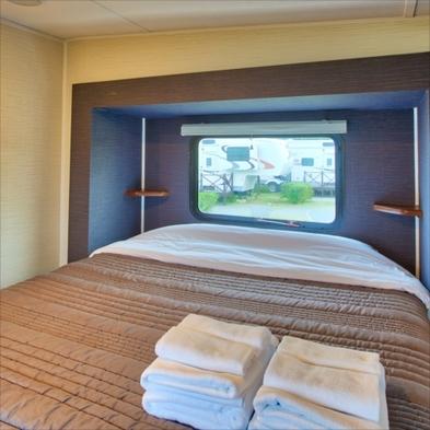 【3連泊】トレーラーハウス型リゾートホテル♪【朝食付】