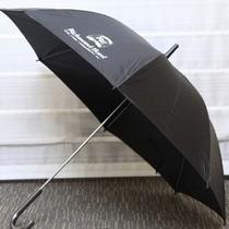 傘の無料貸し出しあります。