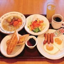 サイゼリヤ朝食御膳形式