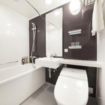 モデレートツインルームのお風呂(ユニットバスタイプ)