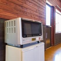 *ドッグラン付コテージ/コテージ内は冷蔵庫や電子レンジなども完備