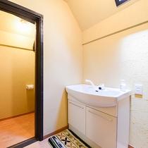 *古民家コテージ/独立洗面台とウォシュレットトイレ付