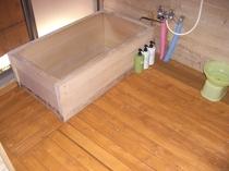 コテージJ浴室修繕写真です。