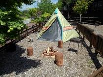 キャンプスタイルキャビン専用ガーデン