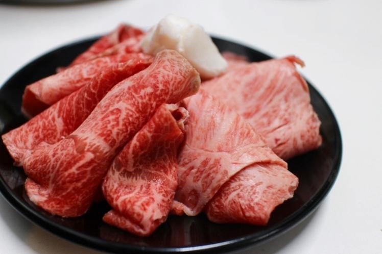 ◇冬季お夕食メニュー人気No.2〈和牛すき焼き〉3