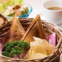 ■朝食-ホットサンド-■