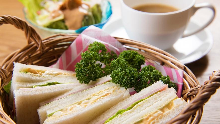 ■朝食-サンドウィッチ-■