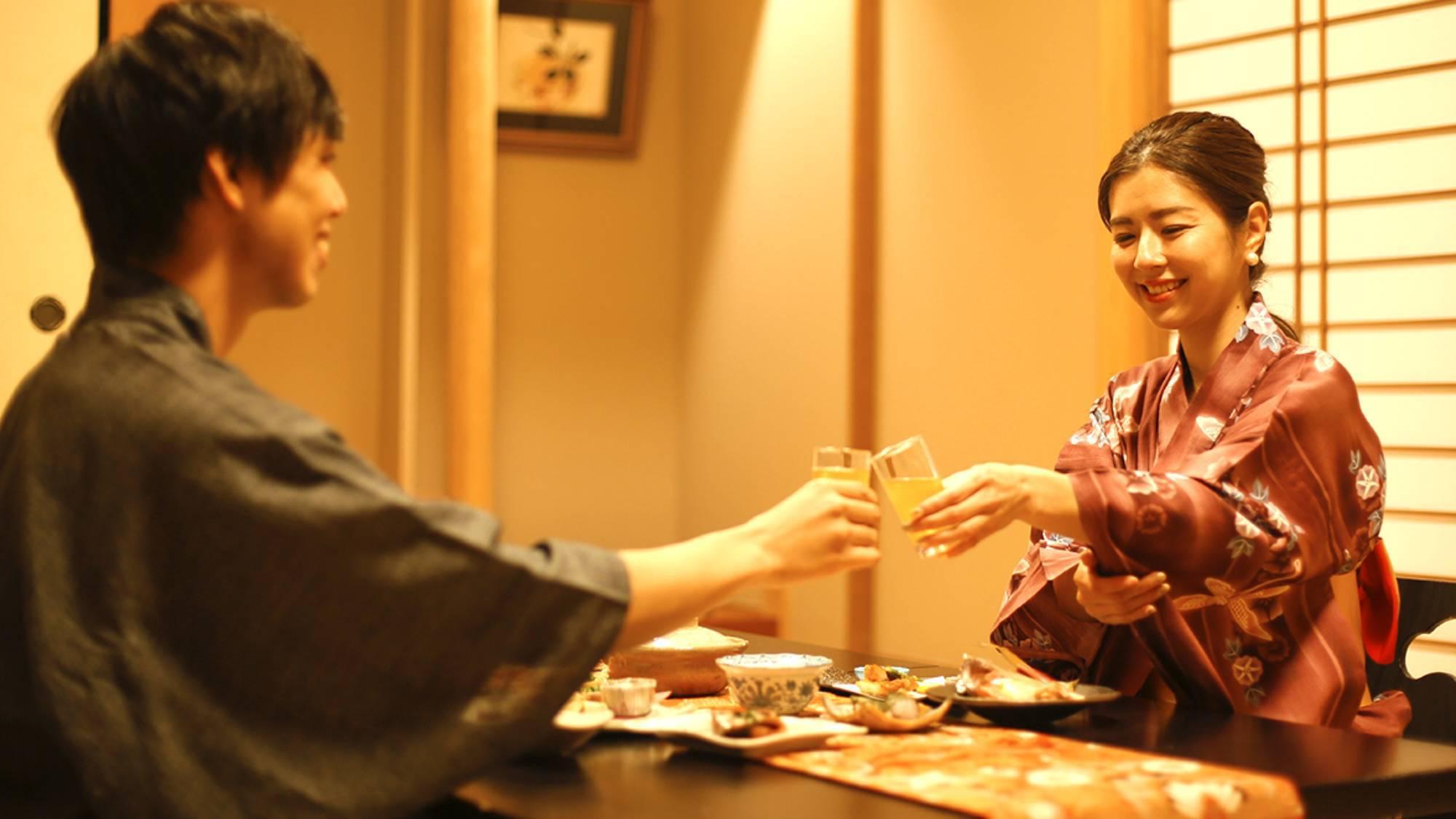 一日の終わりを彩る「お食事の時間」には、ぜひお酒とともに「乾杯」を。