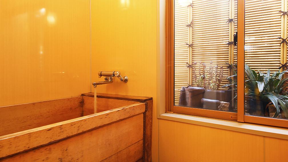 ◆ヒノキ風呂付和室◆ヒノキの香りに癒され、旅の疲れもゆったり解消♪