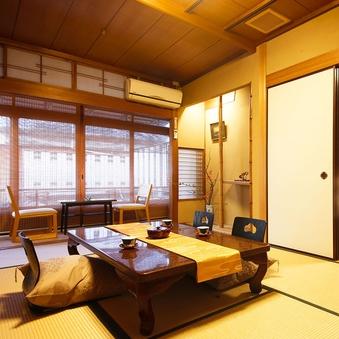 ■和室8畳+次の間■プライベート空間♪【檜風呂付き】