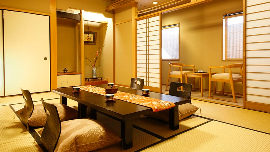◆別館和室-12畳◆[トイレ・バス付]シンプルに滞在を楽しむためのお部屋です。