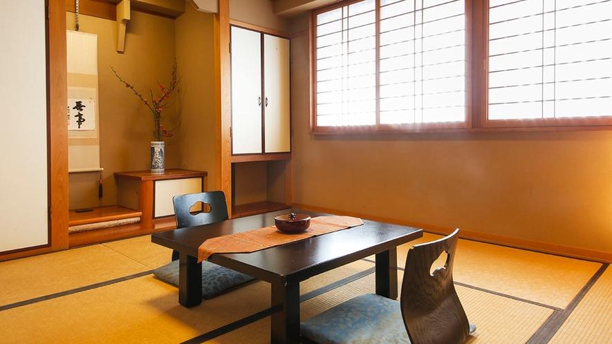◆別館和室-8畳◆[トイレ・バス付]シンプルに滞在を楽しむためのお部屋です。