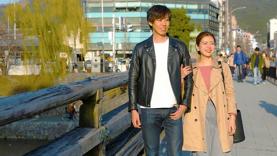「次はどこに行こうかな~♪」散策だけでも楽しい京都の町